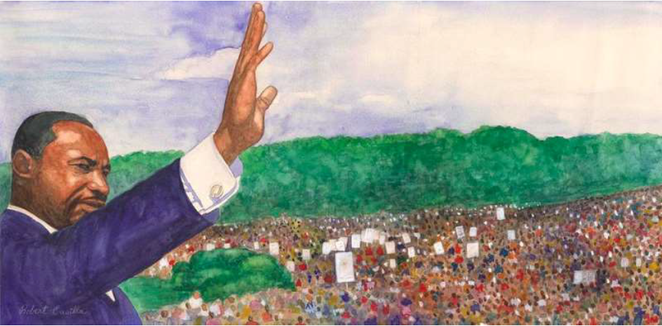 37. Martin Luther King Jr., March on Washington