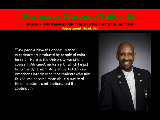 Professor Clarence Talley, Sr.