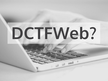 DCTFWeb?