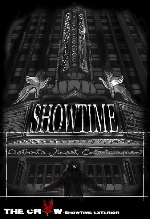 The Crow - Showtime Ext. sketch