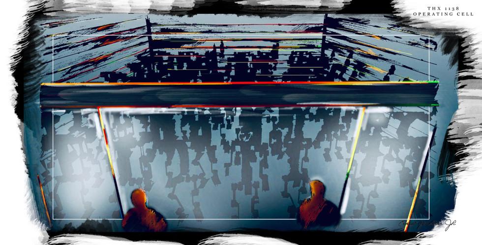 THX 1138 - Operating Cell Illustration