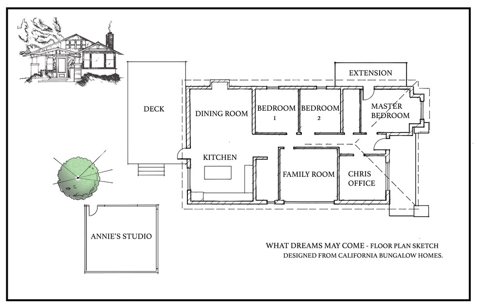What Dreams May Come - Home Floor Plan/Ext. Elevation