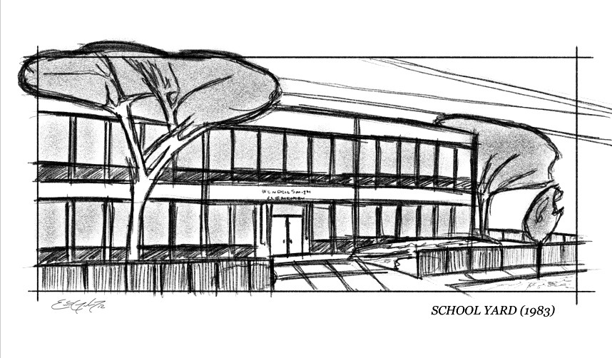 Knoxville - Ext. School sketch