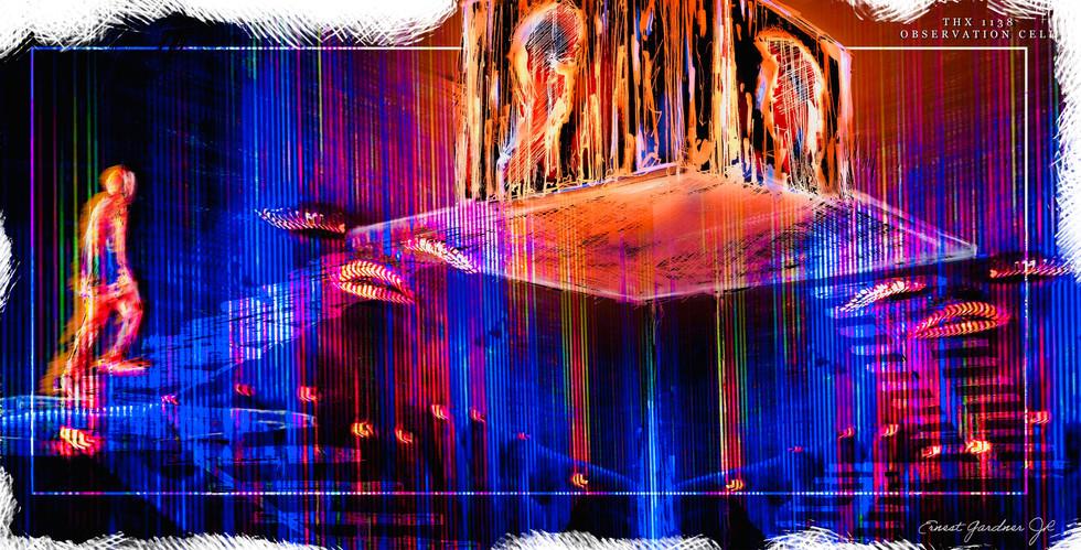 THX 1138 - Observation Cell Illustration