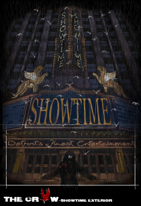 The Crow - Showtime Ext. illustration