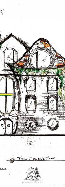 Exterior Village Sketch
