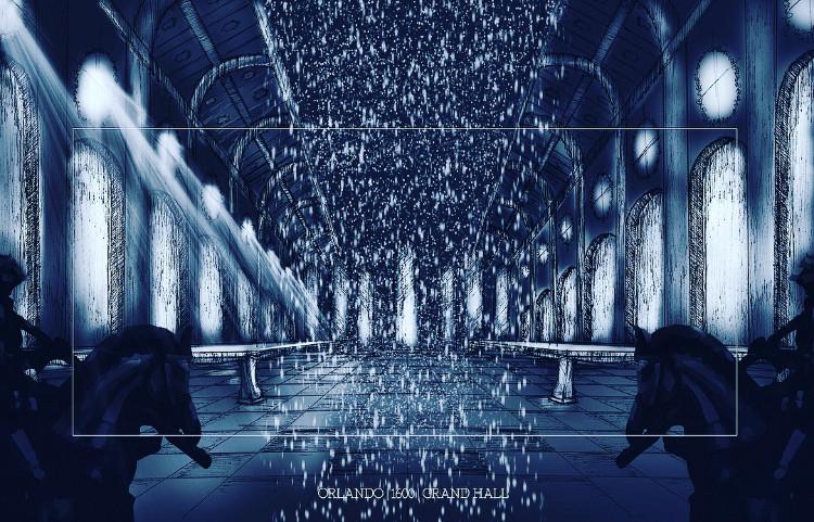 Orlando - Grand Hall Illustration