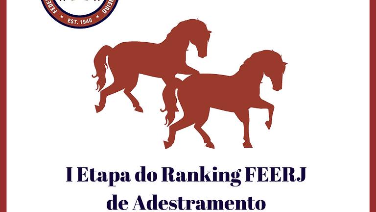 I Etapa do Ranking de Adestramento FEERJ 2021