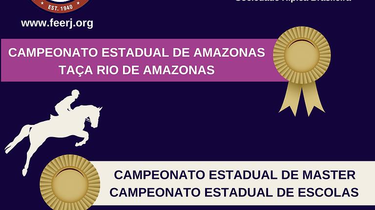 Campeonato Estadual de Amazonas/ Master/ Escolas e Taça Rio de Amazonas