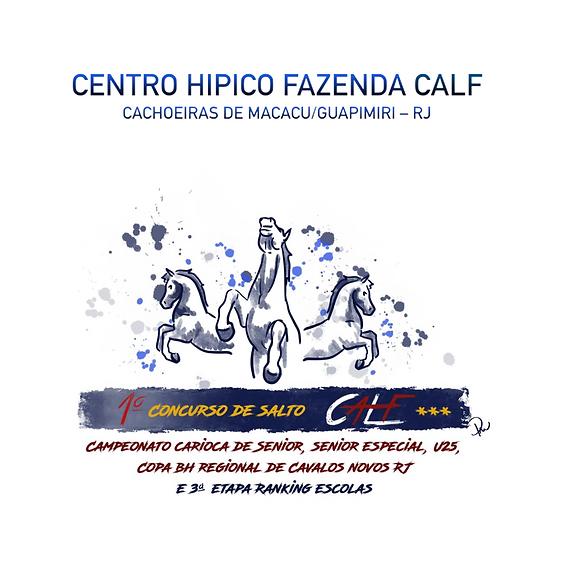 1º CONCURSO DE SALTO CALF