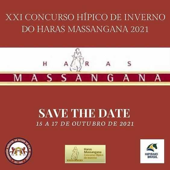 XXI  CONCURSO HIPICO DE INVERNO NO HARAS MASSANGANA 2021