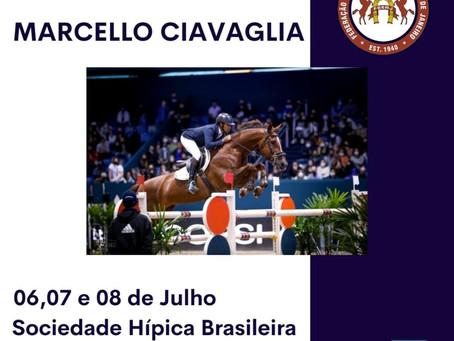 II Clínica de Salto ministrada pelo grande cavaleiro Marcello Ciavaglia.
