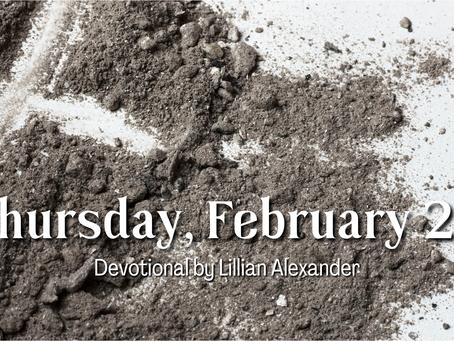 Day 8 - Thursday, February 25