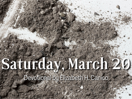 Day 28 – Saturday, March 20