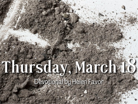 Day 26 - Thursday, March 18