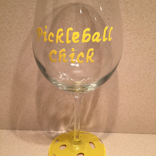 Pickleball Chick Glass/Mug