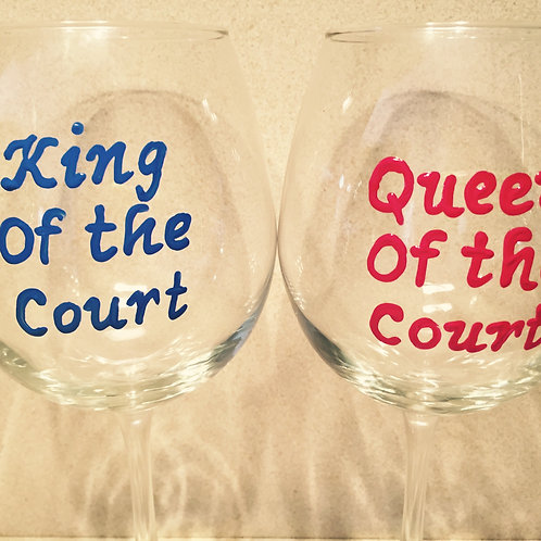 King of the Court Pickleball Glass/Mug