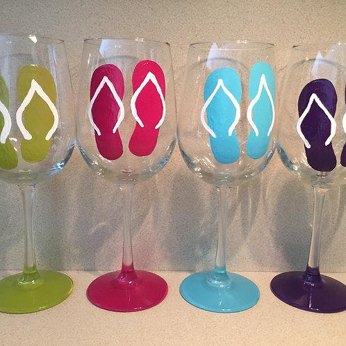 Flip Flops Glass