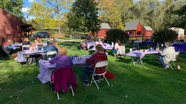Last Lavender Painting Event for 2021 at Orchard View Lavender Farm