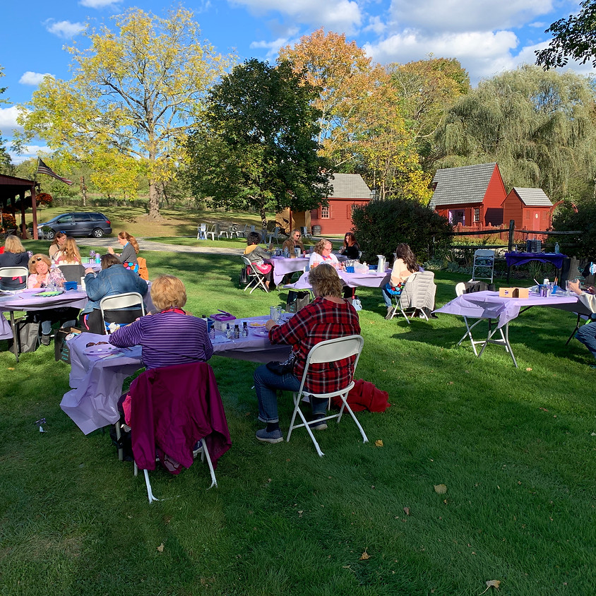 Lavender Painting Event at Orchard View Lavender Farm