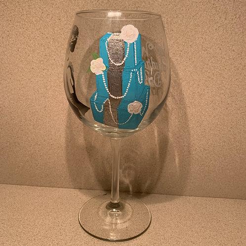 Custom 3 sided glass