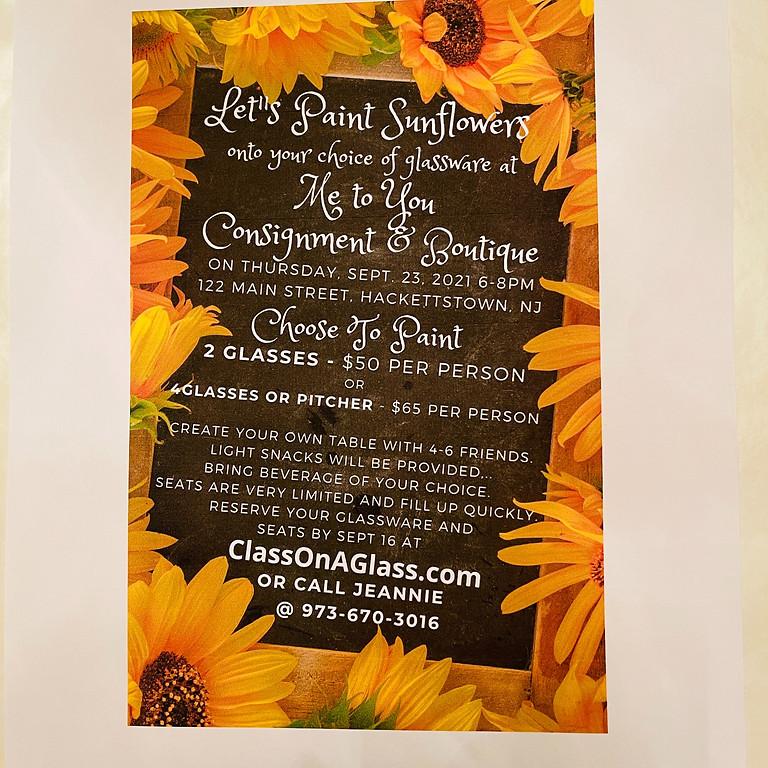 Let's Paint Sunflowers!!!