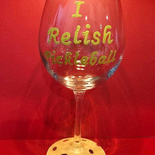 I Relish Pickleball Glass/Mug