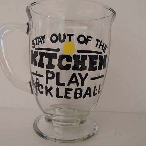 Stay out of the Kitchen...Play Pickleball