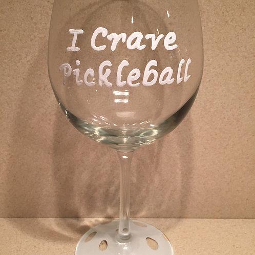 I Crave Pickleball Glass/Mug