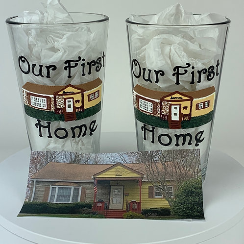 Paint my house on a glass