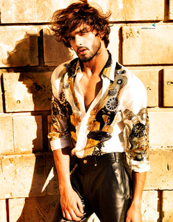 MARLON TEIXEIRA by GIOVANNI SQUATRITI for HARPER'S BAZAAR MEN'S STYLE