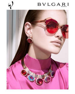 Bulgari Wild Pop high jewellery special editorial for Laha Magazine