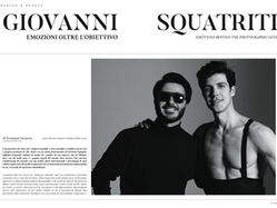 REDCARPET MAGAZINE - GIOVANNI SQUATRITI: EMOTIONS BEYOND PHOTOGRAPHIC LENS