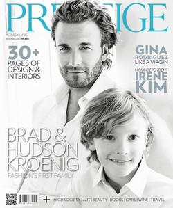 COVER STORY: BRAD AND HUDSON KROENIG