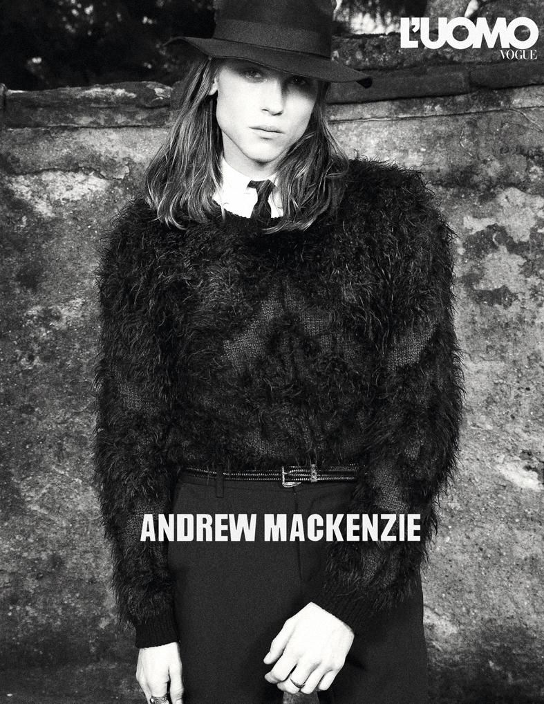 ANDREW MACKENZIE FW 2018 ADV