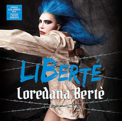 LIBERTÈ, LOREDANA BERTÈ NEW ALBUM COVER BY GIOVANNI SQUATRITI