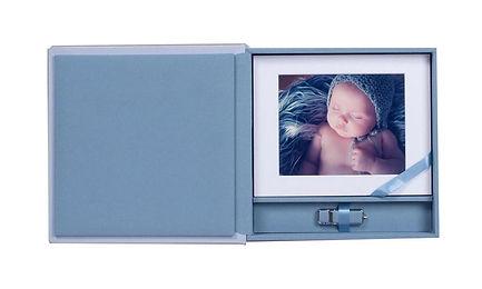 portrait folio box, prints & usb