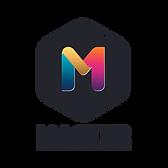 Master Photographers Logo - Vertical Bla