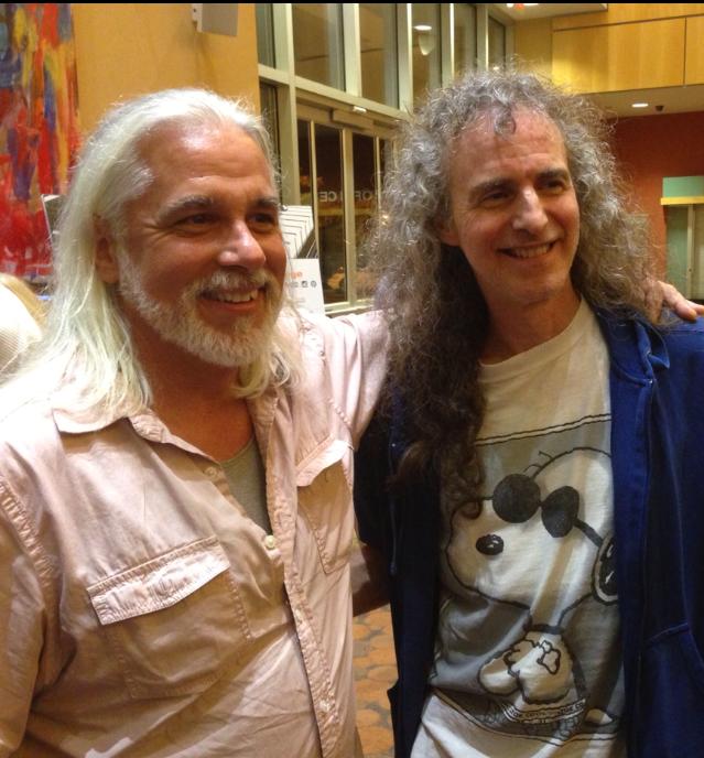 With Gary Oleyar