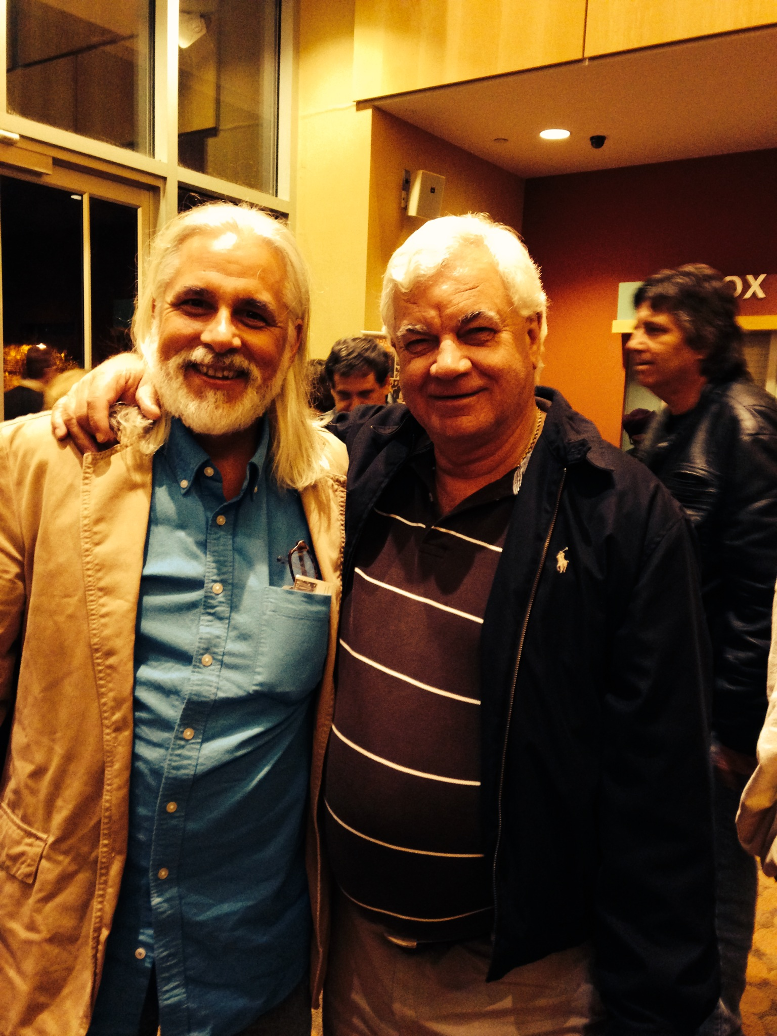 With Armando Piedade.