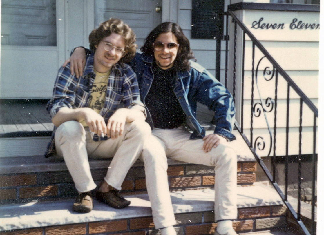 With Paul Unkert 1977.
