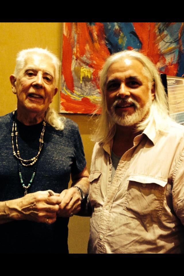 With John Mayall.