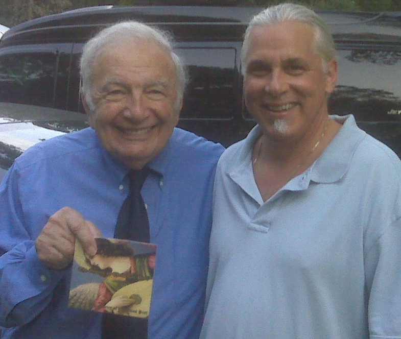 With Bucky Pizzarelli.