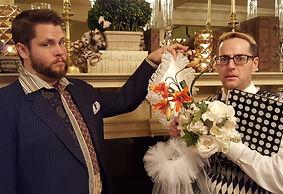 murder mystery wedding cast