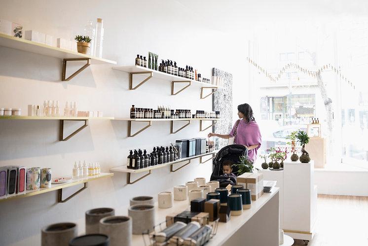 Loja de maquiagem