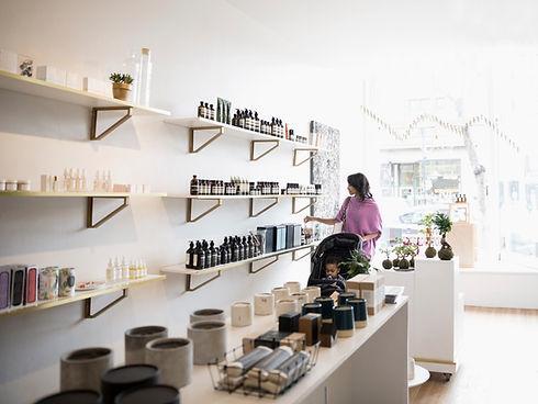 Tienda de maquillaje