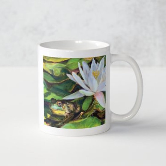 Lily Pond Mug
