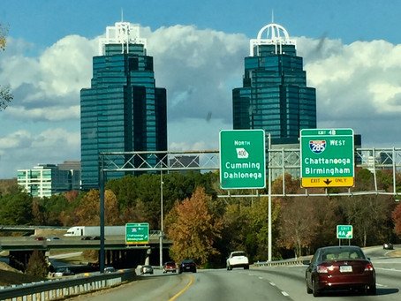 Sarah's Sunday Drive - Seeing the sights of Atlanta