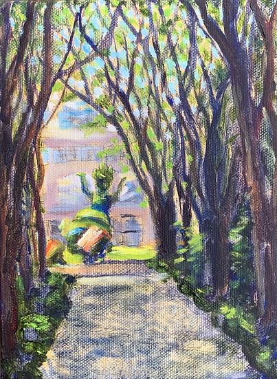 SOLD - Alice in the Garden
