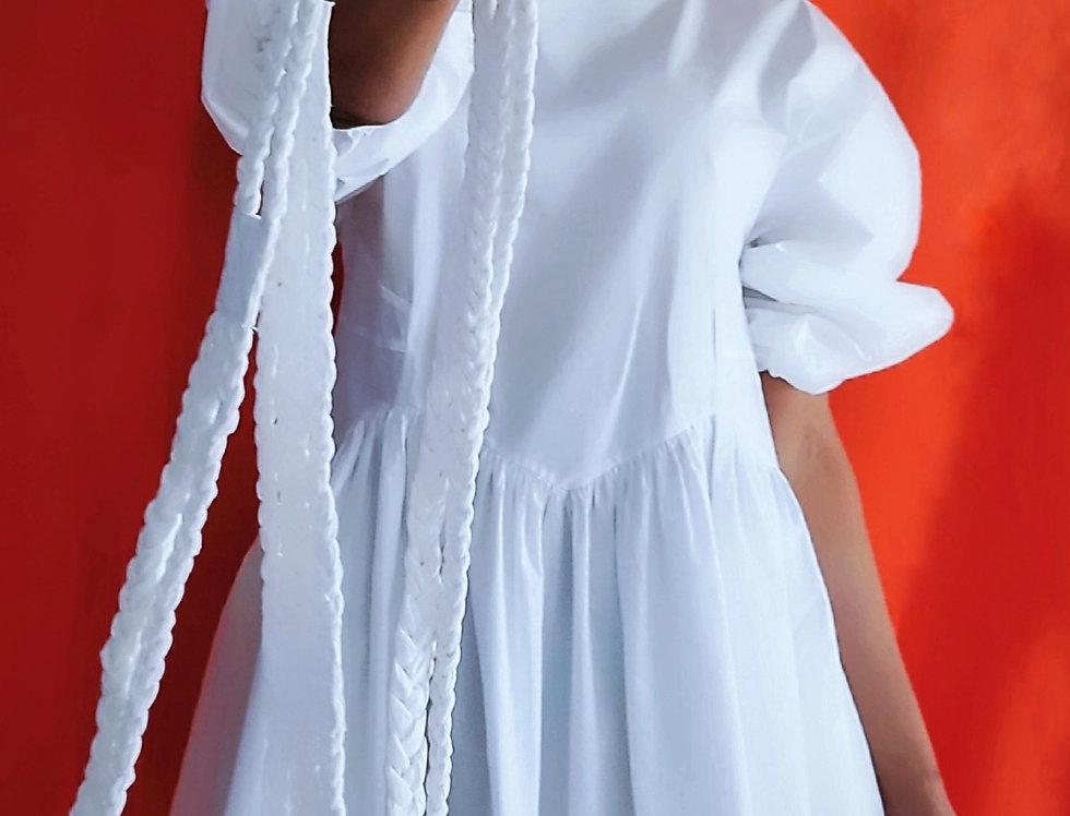 Rosa Dress Bright White